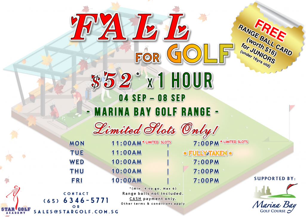 September Golf Clinic 29082017